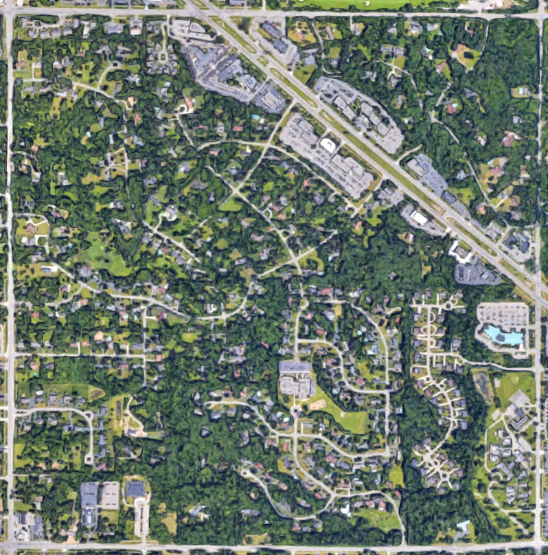 Old Maps & Aerial Views Maps Aerial on